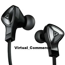 NEW Brookstone DNA Monster In Ear Earbuds Headphones ControlTalk HD Sound Black