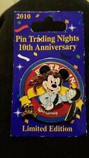 DISNEY PIRATE MICKEY MOUSE 10TH ANNIVERSARY 2010 PIN TRADING NIGHT LE 500