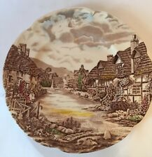 Olde English Country Side By Johnson Bros Dinner Plate, EUC