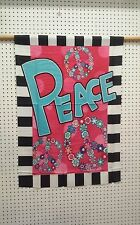 """28"""" X 40"""" Peace Polyester House/Banner Flag"""