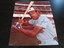 Andre Dawson Autograph / Signed 8 x 10 Photo Montreal Expos