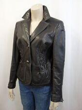 Damen-Blazer aus Leder Normalgröße