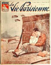 La Vie Parisienne - September 16, 1933 - Rare Risque French Magazine; Art Deco