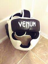Venum Elite Head Gear (Black/White)