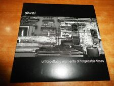 SIWEL Unforgettable moments of forgettable times CD ALBUM PROMO CARTON 2005