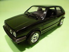 POLISTIL S318 VW VOLKSWAGEN GOLF 2 GL GTI? - BLACK 1:25 - EXCELLENT