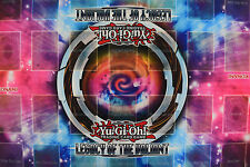 Yu-gi-oh! Yugioh Legacy of the Valiant 2 Player Double Rubber Playmat NEW