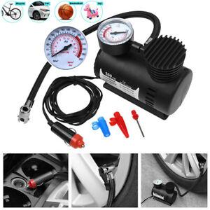 Mini Kompressor Elektrische Luftpumpe Auto Reifen Druckluft Fahrrad 12V 300 PSI