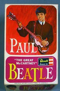 Beatles-Paul McCartney Revell Model Kit-Compete Sealed Nr. Mint Boxed-1964