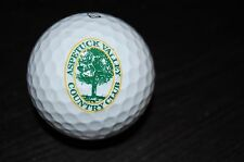 Golf Ball Logo Aspetuck Valley Country Club Course Links Related