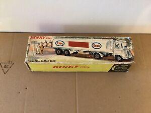 Vintage Diecast Model Dinky Toys Original Empty Box 945 AEC tanker Wagon