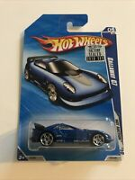Hot Wheels -2010 -Callaway C7 -HW Hot Auctions,HTF Factory Sealed Card!,MOC!
