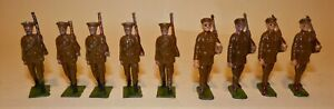 Johillco British WWI Marching 9 Figures
