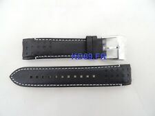 Authentic Seiko leather strap band 21 mm L0A2011J0 5M85-0AA0 SUN015 SUN028