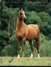 Arabian Horse World - September 1991 - Vol. 31, No. 12