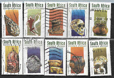 SOUTH AFRICA 1998 EARLY SA HISTORY COMPLETE POSTAL USED SET 1378