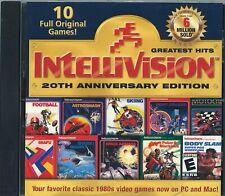 Intellivision Greatest Hits 20th Anniversary Edition 10 Full Original Games NIS