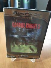 Gabriel Knight 3 PC/DVD-ROM!!!! nuevo! nuevo!!! eingeschweist sin usar