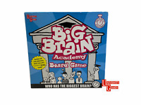 Big Brain Academy Board Game by University Games . 2007 -Complete-
