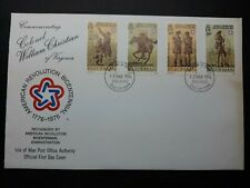 American revolution, Col. William Christian, Isle of Man, Fdc