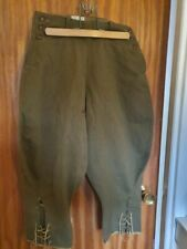 WW2 WOMENS LAND ARMY WHIPCORD BREECHES 1943