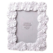 Gisela Graham Blanc Brillant Marguerite Image/Photo Frame.Home.Birthday . 4 x 6