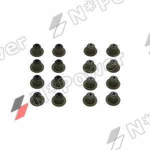 VALVE STEM SEALS X16 FOR Mazda L3-VDT Turbo 2.3L Mazda 6 3 BK BL MPS CX-7