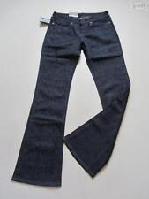 L34 Damen-Bootcut-Jeans niedriger Hosengröße W27 (en)