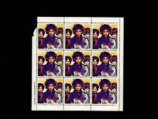 Vintage Original 1993 Limited Hendrix Mini Stamp Sheet Are You Experienced Redo