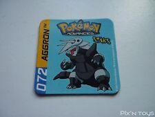 Magnet Staks Pokémon Advanced / 072 Aggron / Panini 2003 [ Neuf ]