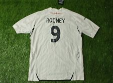ENGLAND TEAM #9 ROONEY 2007/2009 FOOTBALL SHIRT JERSEY HOME UMBRO ORIGINAL YOUNG