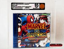 Marvel VS Capcom SEGA Dreamcast Euro Variant New Sealed VGA 95 Gold Mint!!