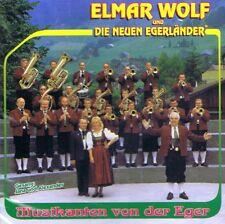 MUSIK-CD NEU/OVP - Elmar Wolf und die neuen Egerländer - Musikanten von der Eger