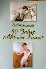AKt & KUNST Jubiläumsausgabe foto NACKT nude frau girl mädchen behaart 1989 ddr