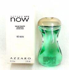 AZZARO NOW MEN BY AZZARO EAU DE TOILETTE SPRAY 50 ML/1.7 FL.OZ. (T)