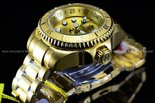 Invicta Men 52mm Reserve Hydromax 24K Gold Swiss Movement 1000M Diver SS Watch
