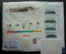 Germany Youth Father And Son 2003 Cartoon Animation Ship (stamp) USED *see scan