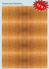 PRINT SCALE DECALS 1/72 & 1/48 rosso-marrone - compensato adesivi parte 2 #032