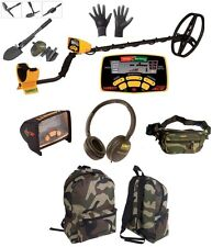METAL DETECTOR GARRETT EURO ACE 350 + GIFTS BACKPACK COVER HEADPHONES DISPLAY