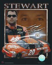 TONY STEWART SMOKE HOME DEPOT JOE GIBBS RACING REPLICA SIGNED NASCAR PHOTO #02