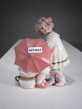 +# A014843 Goebel Archiv Muster Gräfenthal Vase Mädchen hinter Schirm 12081