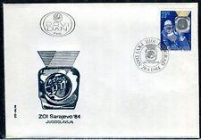 2045c - Yugoslavia 1984 - Jure Franko - Olympic Champion - Skiing - FDC