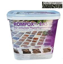 Romex Rompox Easy 15 kg Basalt, Pflasterfugenmörtel, fix und fertig gemischt