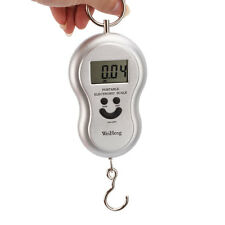 40kg/10g Pocket LCD Digital Hanging Hook Travel Luggage Weight Electronic Scale