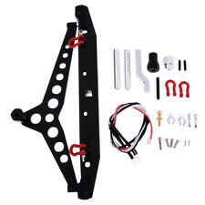 1/10 RC Car Parts - Rear Bumper with LED Accessory for Axial 90046 TRX-4