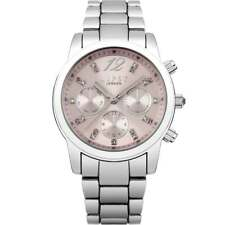 Lipsy LP390 Ladies Stone Set Multi Dial Silver Tone Watch