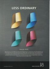 magazine advert for the audio company  : BANG AND OLUFSEN - vgc -