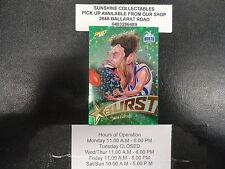 2017 AFL FOOTY STARS STARBURST CARICATURE GREEN SB46 SAM GIBSON KANGAROO