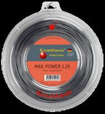 Kirschbaum Max POWER  1.25mm  matassa 200m novità