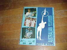1994 South Australian Men's Open Championship Tennis Program